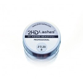 "2HD Lashes® -""Soft & light"" type. 0.5 g"