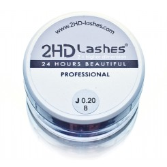 "J; B; C; D (0.10-0.25)  2HD Lashes® -            ""Soft & light"" type. 1 g"
