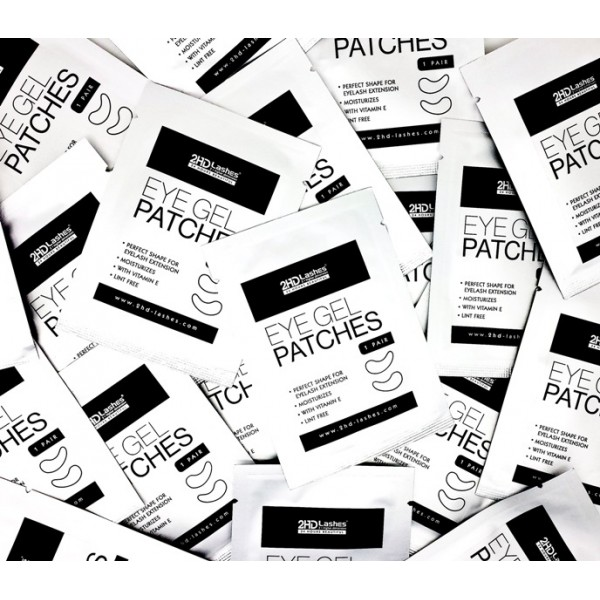 Moisturizing Eye Gel Patches.  20 units. 1un - 0.95€